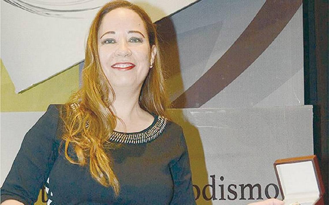 Reportera de la OEM obtiene Premio Chihuahua 2018