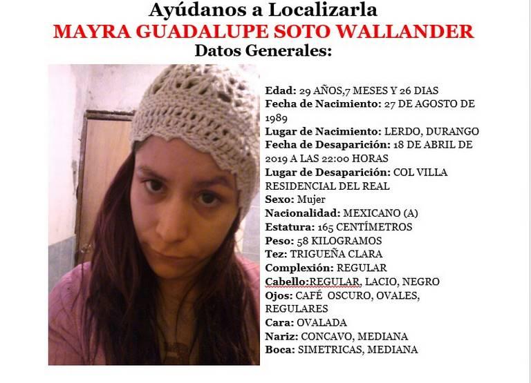 Resultado de imagen para Mayra Guadalupe Walander